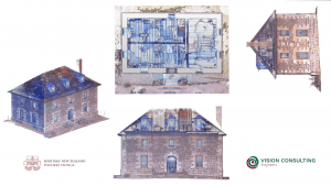 Shows multiple angles of the 3D point cloud